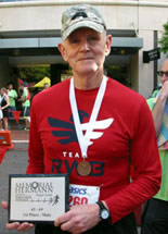 Dr. Parr First Place Sugar Land Half Marathon